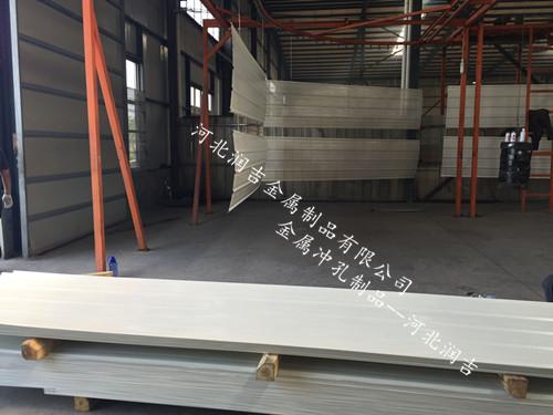河北润吉卷料彩钢冲孔板网直径规格